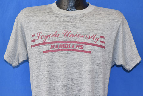 80s Loyola Chicago Ramblers Distressed t-shirt Medium