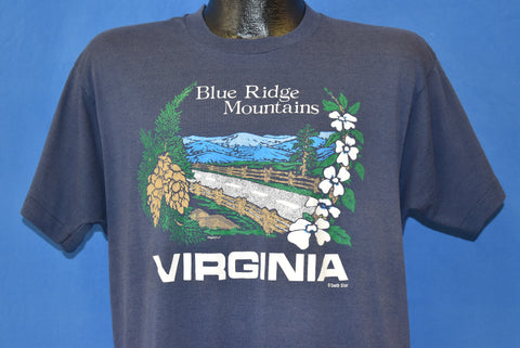 80s Blue Ridge Mountains Virginia Tourist t-shirt Large