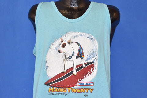 80s Spuds Mackenzie Hang Twenty Bud Light t-shirt Large