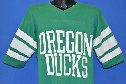 80s Oregon Ducks Jersey Style t-shirt Large