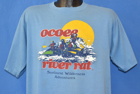 80s Ocoee River Rat Sunburst Wilderness t-shirt Extra Large