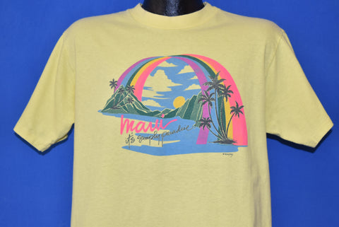 80s Maui Hawaii It's Simply Paradise t-shirt Large