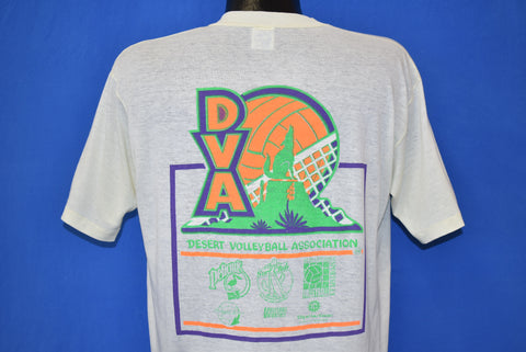 80s DVA Desert Volleyball Association t-shirt Large