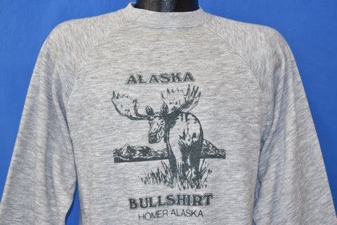 80s Homer, Alaska Bullshirt Sweatshirt Medium