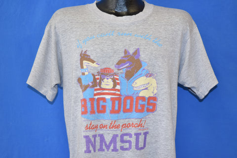 80s New Mexico State Aggies Distressed t-shirt Large