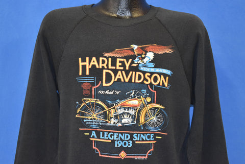 80s Harley Davidson Westminster California Sweatshirt Medium