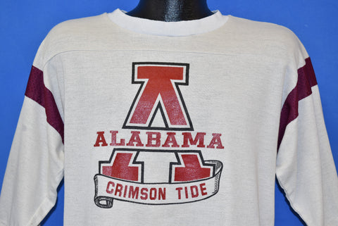 80s Alabama Crimson Tide Jersey Style t-shirt Large