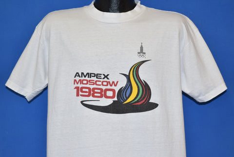 80s Moscow Olympic Games 1980 t-shirt Large