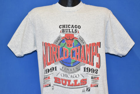 90s Chicago Bulls 1992 NBA Finals t-shirt Large