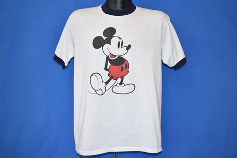 80s Mickey Mouse Classic Disney Ringer t-shirt Large