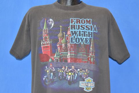 90s Harley Davidson From Russia With Love t-shirt Large