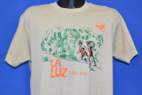 80s La Luz Trail Run Albuquerque t-shirt Large