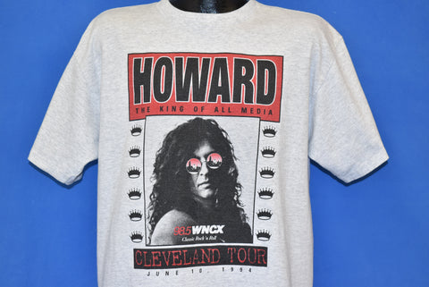 90s Howard Stern King Of All Media Tour t-shirt Large