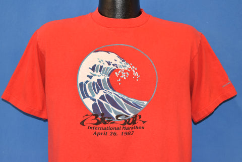 80s Big Sur International Marathon 1987 t-shirt Large