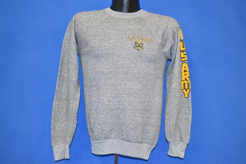 80s United States Army Raglan Sweatshirt Small