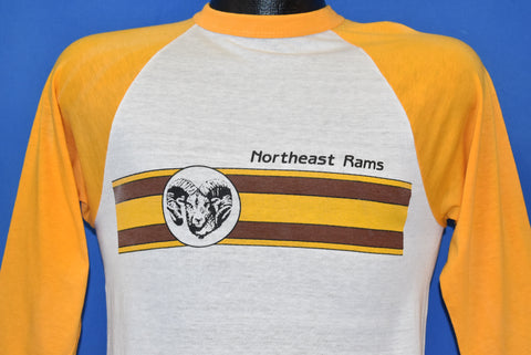 80s Northeast Rams High School Russell t-shirt Small