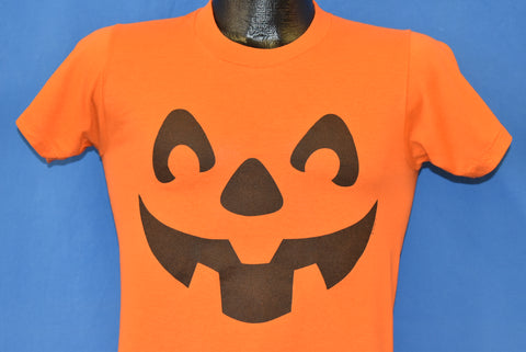 90s Pumpkin Jack-O-Lantern Face t-shirt Youth Extra Large