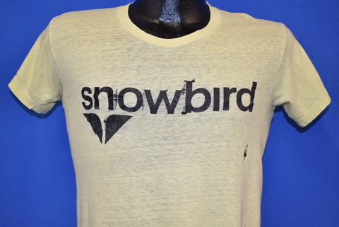 70s Snowbird Ski Resort Salt Lake City Distressed t-shirt Small