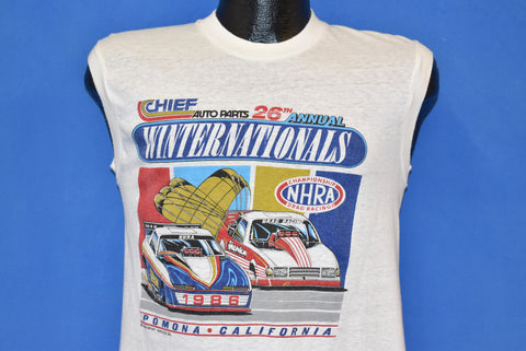 80s NHRA Winternationals Pomona 1986 t-shirt Small