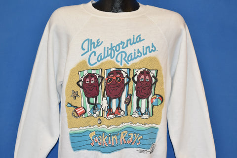 80s California Raisins Soakin' Rays Sweatshirt Large