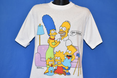 "80s The Simpsons ""Say Cheese"" Deadstock t-shirt Large"