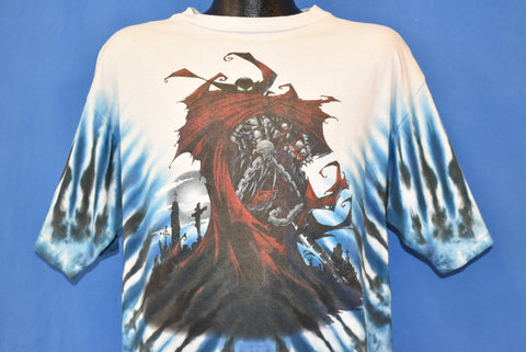 90s Spawn Death is No Escape Tie-Dye t-shirt Extra Large