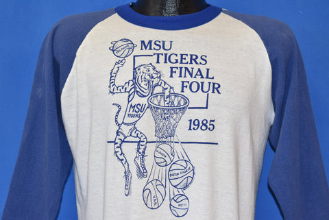80s Memphis State Tigers 1985 Final Four t-shirt Large
