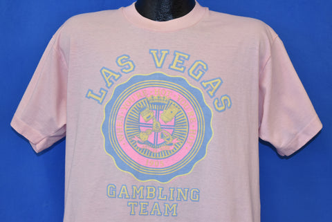 80s Las Vegas Gambling Team t-shirt Extra Large