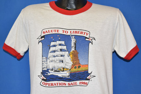 80s Salute To Liberty Operation Sail 1986 t-shirt Medium