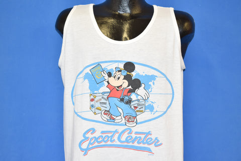80s Epcot Center Mickey Mouse Tank Top t-shirt Large