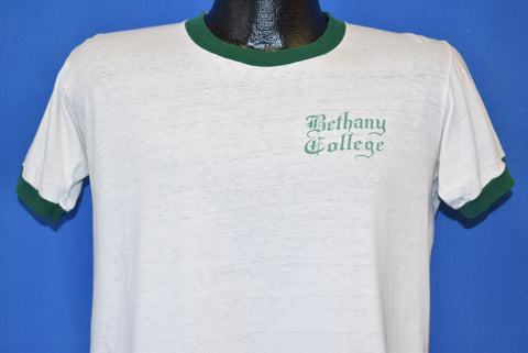 70s Bethany College Ringer t-shirt Medium