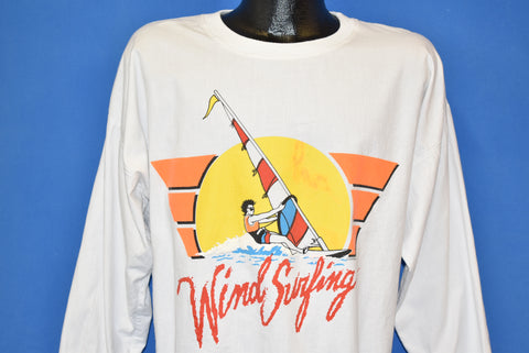 80s Minnesota Golden Gophers Wind Surfing t-shirt Large