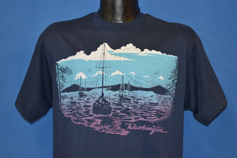 80s Washington State Mountain Tourist t-shirt Large
