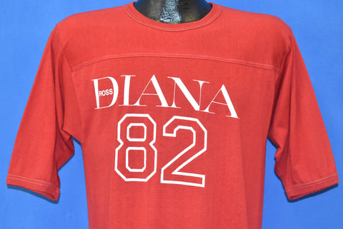 80s Diana Ross 1982 Tour Jersey t-shirt Medium