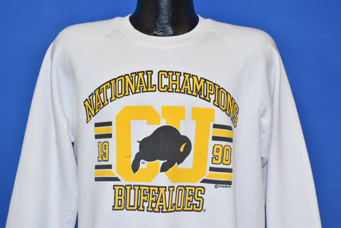 90s Colorado Buffaloes National Champions 1990 Sweatshirt Large