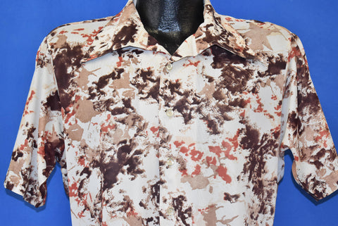 70s Prince Igor Abstract Disco Shirt Medium