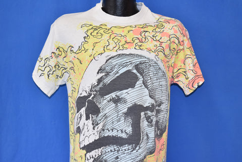 90s Marvel Ghost Rider All Over Print t-shirt Youth Large