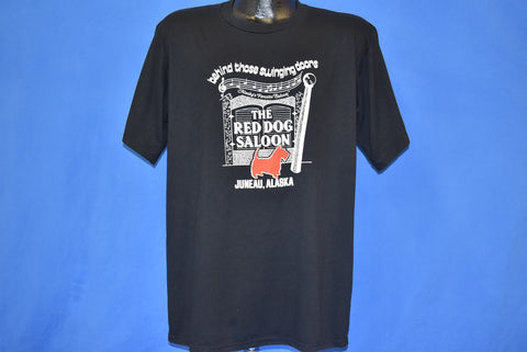 80s Red Dog Saloon Juneau Alaska t-shirt Extra Large