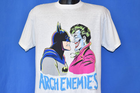 80s Batman The Joker Arch Enemies DC Comics t-shirt Medium