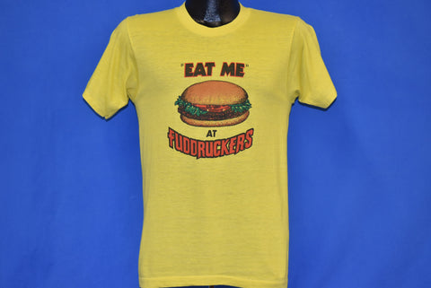 80s Eat Me at Fuddruckers t-shirt Small