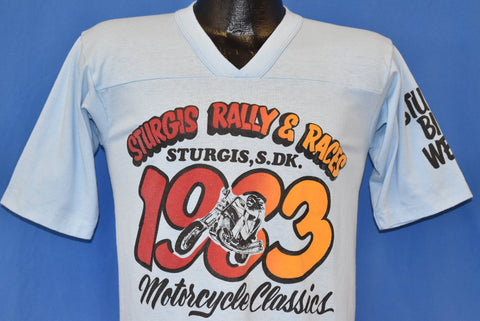 80s Sturgis Rally & Races Bike Week Motorcycle t-shirt Small
