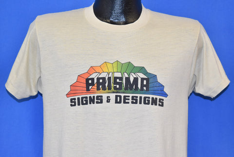 80s Prisma Signs & Designs Rainbow t-shirt Medium