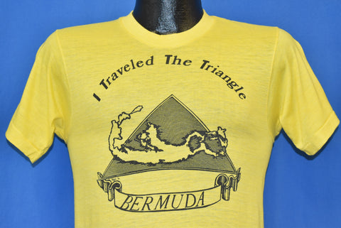 70s I Traveled the Bermuda Triangle t-shirt Small