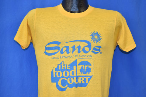 80s Sands Casino Atlantic City New Jersey t-shirt Small