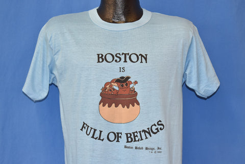 80s Boston is Full of Beings 1982 Funny t-shirt Medium