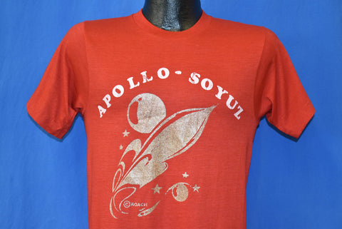 70s Apollo-Soyuz US-Soviet Space Test t-shirt Small