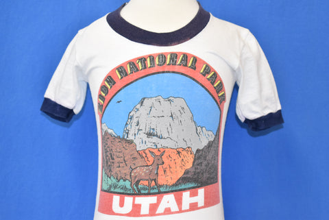70s Zion National Park Ringer t-shirt Baby 12-18 mo