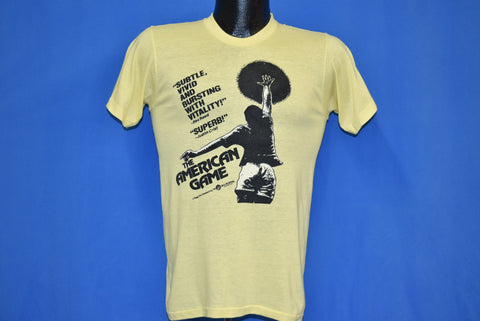 70s The American Game Basketball Movie t-shirt Small