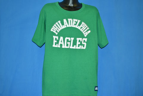 80s Philadelphia Eagles Kelly Green t-shirt Extra Large