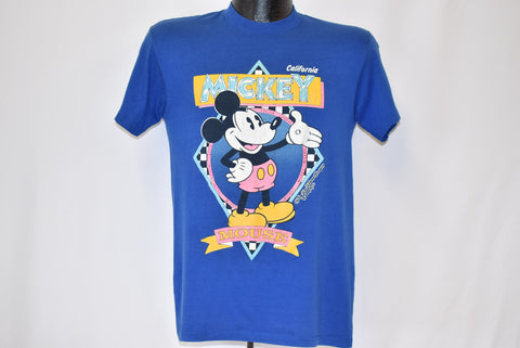 80s Mickey Mouse California Disney t-shirt Small